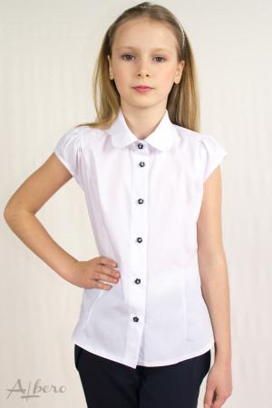 """Блуза с подкройным рукавом-крылышком и воротником """"фестонами"""" Артикул: 5011"""