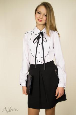 Блуза с контрастным кантом Артикул: 5040