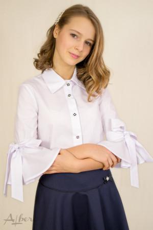 Блуза с бантами на рукавах Артикул:5047