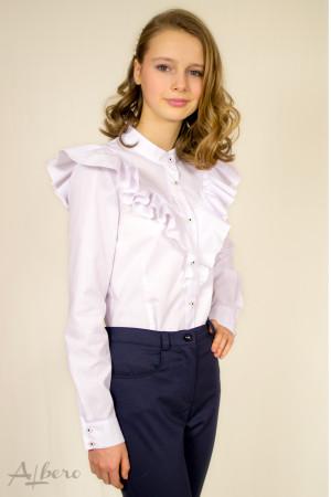 Блуза с воланами Артикул:5048