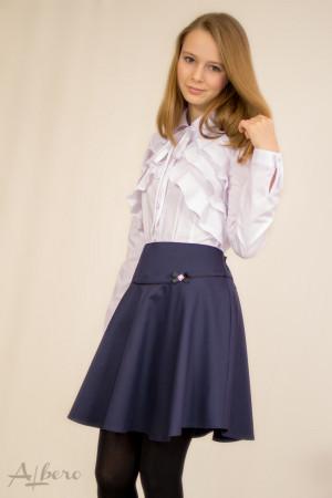 Блуза с фигурными воланами Артикул:5049
