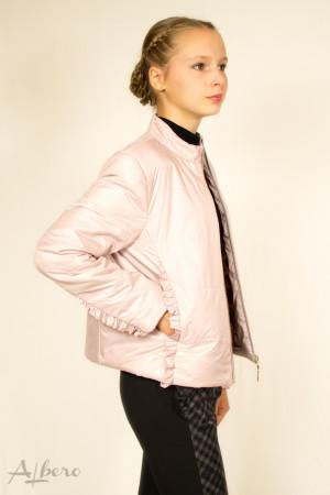 Куртка демисезонная стеганная на утеплителе SLIMTEX (бежевая) Артикул:7028