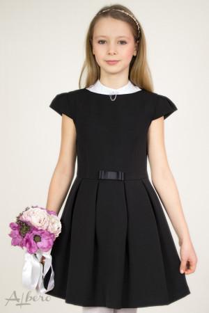 """Платье с вырезом """"лодочка"""", рукавами """"крылышками"""" и встречными складами    Артикул: 1019"""