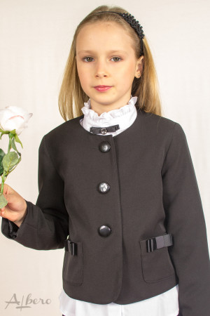 "Жакет ""шанель"" с карманами и бантиками Артикул:2004"