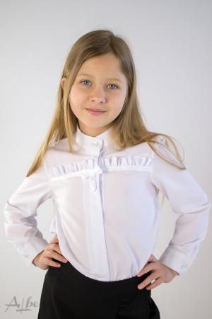 Блуза с горизонтальной оборкой  Артикул:5090