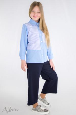 Рубашка комбинированная Артикул:5097
