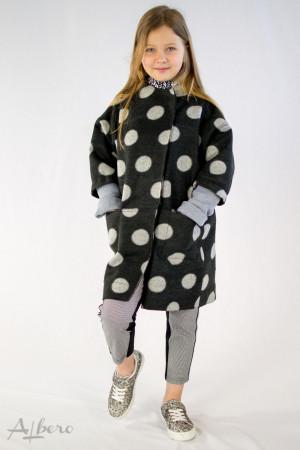 Пальто в горох Артикул: 7036