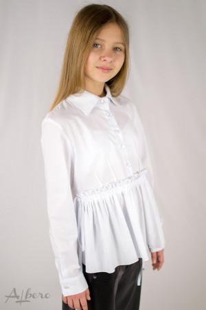 Рубашка с широким воланом Артикул:5110