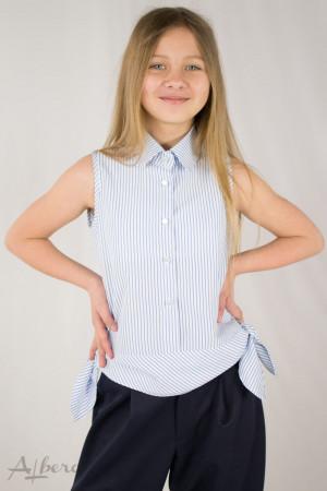 Блузка с боковыми бантами Артикул:5115