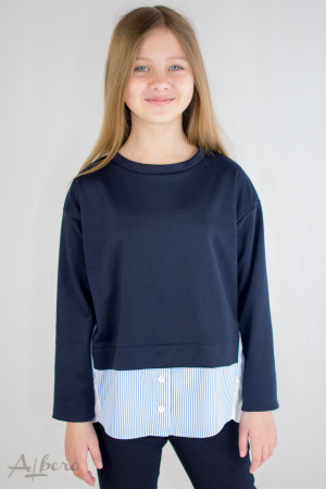 Джемпер-рубашка Артикул:6052