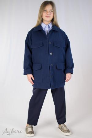 Куртка из кашемира с накладными карманами Артикул:7044