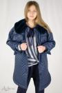 Пальто зимнее оверсайз на флисе Артикул:7046