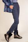 """Брюки теплые с манжетами и декором (материал плотный с """"начесом"""") Артикул:4025"""