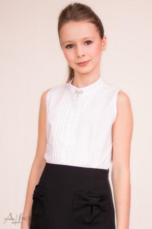 """Блуза """"американка"""" с защипами и декоративной брошью Артикул: 5005"""