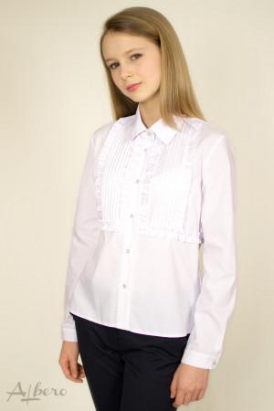 Блуза с оборками и защипами Артикул:5041
