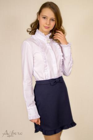 """Блуза с брошью """"Лилия""""-пайетки Артикул: 5046"""