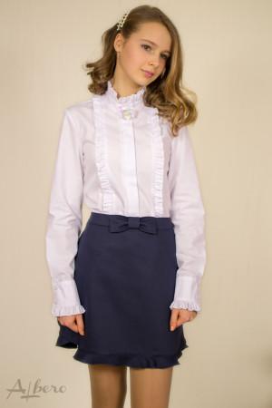 """Блуза с брошью """"Лилия""""-пайетки Артикул:5046"""