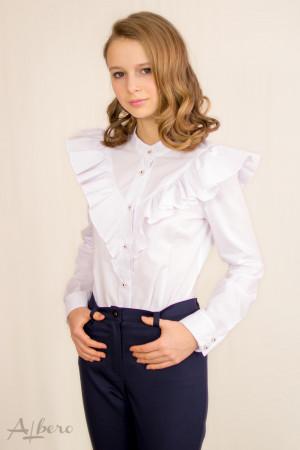 Блуза с воланами Артикул: 5048