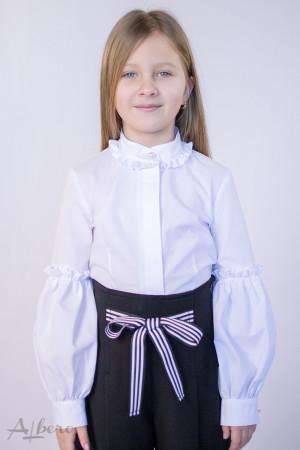 Блуза c жемчужными пуговицами Артикул: 5068
