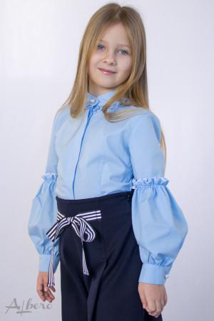 Блуза c жемчужными пуговицами Артикул: 5068-B