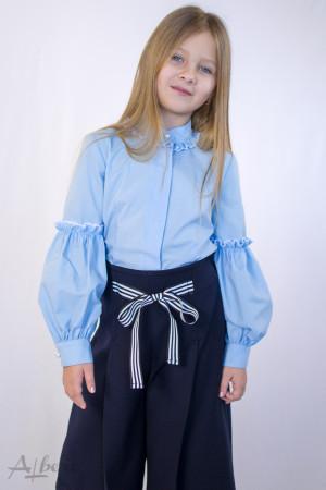 Блуза c жемчужными пуговицами Артикул:5068-B