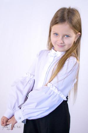 Блуза c жемчужными пуговицами Артикул:5068