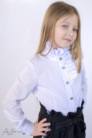 Блуза с высокой стойкой Артикул: 5069