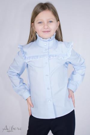 Блуза с квадратной кокеткой Артикул:5070-B