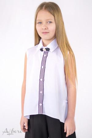 Блуза с оборками на спинке Артикул:5088