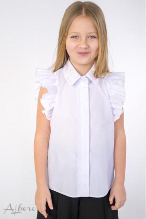 Блуза с оборками на рукавах Артикул:5089