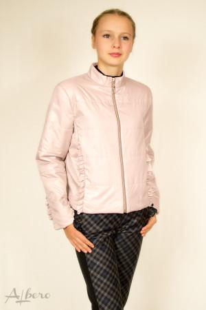 Куртка демисезонная стеганная на утеплителе SLIMTEX (бежевая) Артикул: 7028